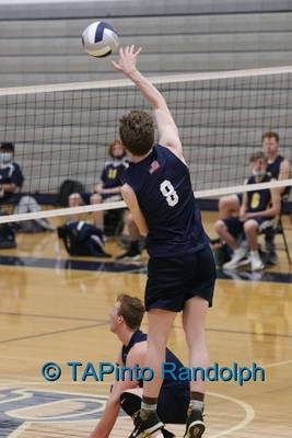 Randolph Boys Volleyball Drops Close Contest With No. 10 Ranked Jefferson; Still Going Strong in NJAC
