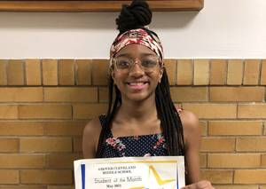 Grover Cleveland Middle School in Caldwell Names May Students of the Month