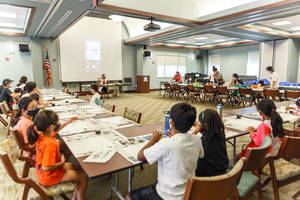 Livingston Multicultural Parents Association Hosts Ink-Painting Workshop for Local Youth