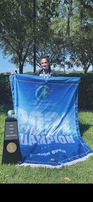 ALJ Cheerleader Kylie Rafferty Brings Home Gold