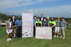 LPGA Pioneers Honor Healthcare Heroes At Founders Cup Tournament at Mountain Ridge