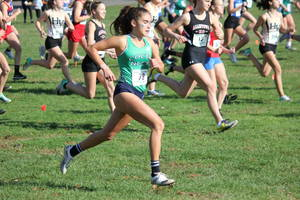 Colts Neck junior Lily Shapiro delivered two individual championships at the Central, Group III sectional championships to lead the Cougars to an overall team title.