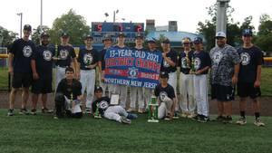 Millburn 13U Wins District Tournament