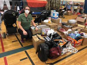 Fair Lawn Veteran Affairs Rep Delivers Schools Supplies to Afghan Children at Military Base