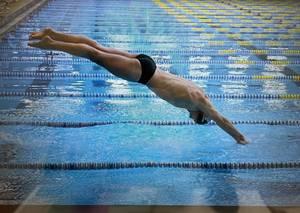 Swimmer Floyd Conlin is Named Joe Eberle Weichert Realtors Pioneer Athlete of the Week