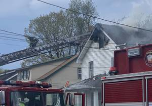Union Firefighters Respond to Attic Fire in Home on Winfield Terrace