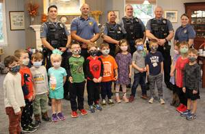 Sparta Library Hosted 2021 Coffee with a Cop