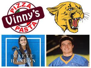 Vinny's Pizza & Pasta Cranford Senior Athletes of the Week: Maeve Hanlon & Dennis DeMarino