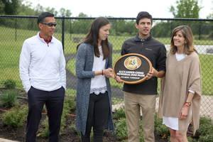 VIDEO: Ribbon Cutting Celebration for Grand Opening of  Alexander Ching Memorial Dog Park at Holmdel's Bayonet Farm.
