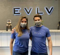 Ribbon Cutting at EVLV, Union's Sports Performance and Fitness Center