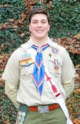 Hunterdon Central Senior Achieves Rank of Eagle Scout