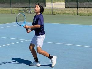 Chatham Boys Tennis Sweeps in Straight Sets vs. Mendham for 9th Win of the Season; Freshman Yang Wins at 3rd Singles