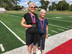 Crane's Mill Residents Win Gold in New Jersey Senior Olympics
