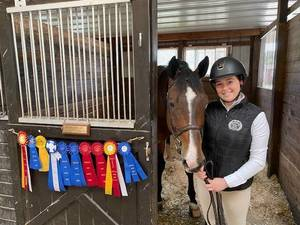 Chatham Equestrian Brennan is Dedicated to the Sport and Her Show Partner, Adorado