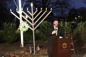 Springfield Gathers for Eighth Annual Chanukah Menorah Lighting