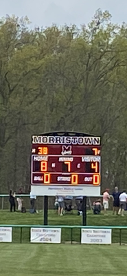Watson Brothers Homer to Lift Morristown Over Randolph; 8-4
