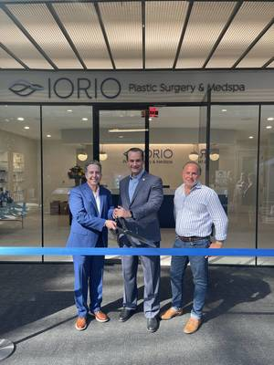 Holmdel: Grand Opening of Iorio Plastic Surgery & Medspa, Celebrated With Official Ribbon Cutting.