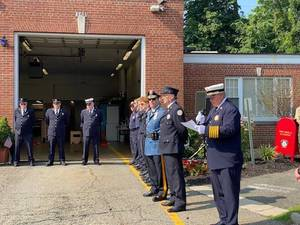 Chatham Honors its First Responders with 'Alternative Parade'; 1st Deputy Fire Chief Glogolich Steps Forward During Pandemic