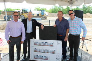 Ground Broken at 204 Wagaraw Road for Bedrin Organization Mixed-Use Complex