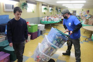 Nutley Family Service Bureau, Nutley Food Pantry, Scouting for Food