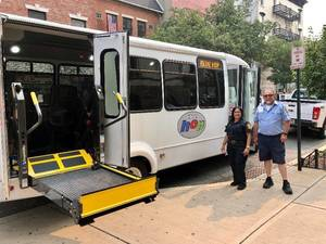 Hoboken Rolls Out New Upgraded HOP Buses