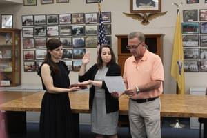 Clark's Newest Police Officer Sworn In Tuesday