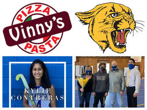 Vinny's Pizza & Pasta Cranford Senior Athletes of the Week: Kylie Contreras & Jimmy Gluck