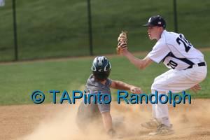 Randolph Baseball Falls Short in Comeback Bid Against Delbarton