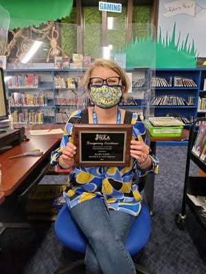 Fair Lawn Children's Librarian Recognized for Working with School Children