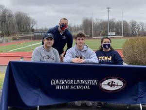 Gov. Livingston All-Around Athlete Jayson Schmidt Signs to Play Football with TCNJ