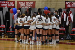 Governor Livingston Girls Volleyball Tops New Providence in Senior Night Game