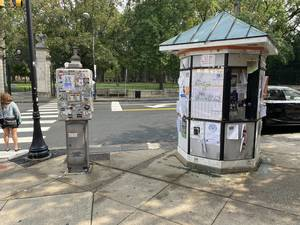 kiosk Princeton Nassau Street