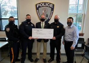 Smith Chiropractic Foundation  Donates $1,000 to BHPD Fundraiser for New Police Department Defensive Tactics Training Center