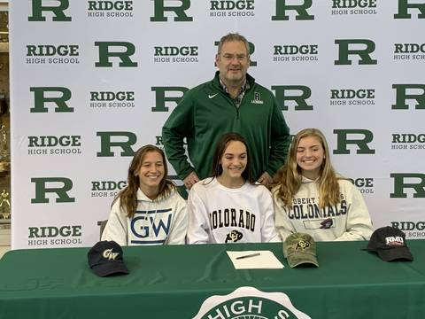 Three Ridge H.S. Girls Lacrosse Players Sign With Colleges - TAPinto.net