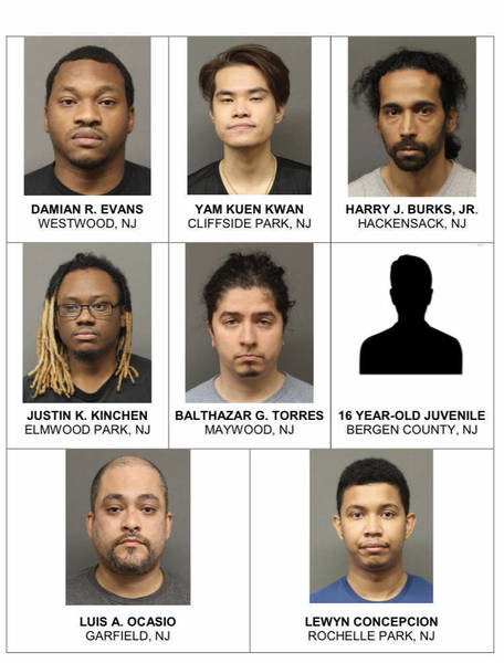 Seven Bergen County Men 1 Juvenile Face Charges For Possession Distribution Of Child Pornography Operation Reboot Investigation Seizes More Than 30 000 Files Tapinto