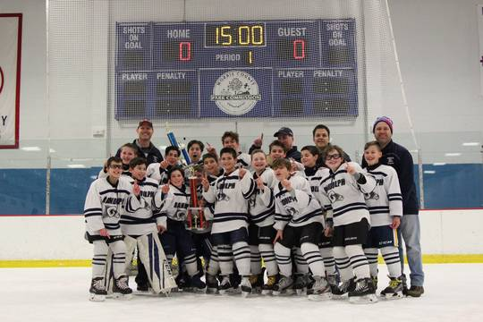Randolph Pee Wee Hockey Claims League Championship Tapinto