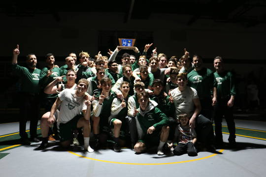 Wrestling: Montville Rolls Past Old Tappan for First
