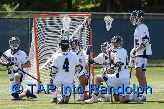 Randolph Boys Lacrosse Bows Out of State Playoffs in Loss to