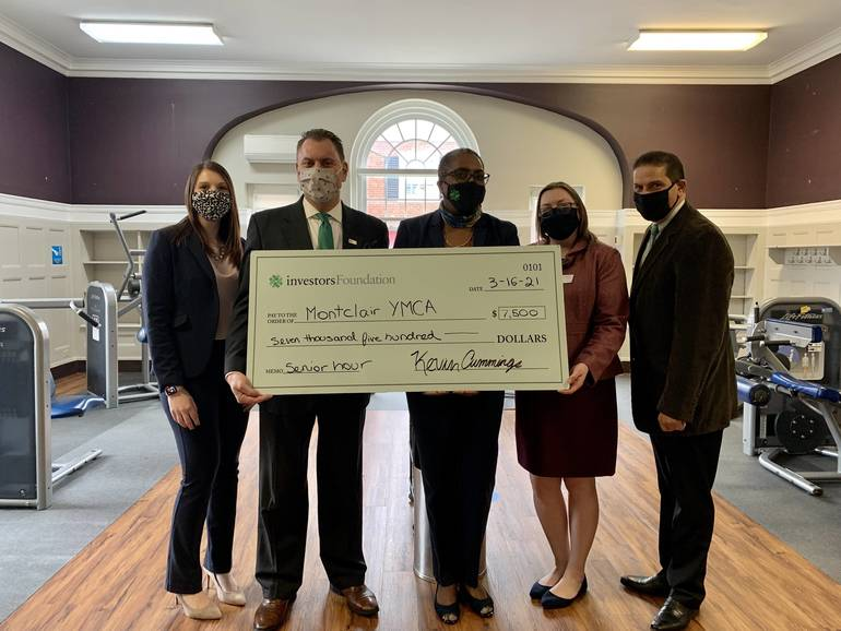 YMCA of Montclair Receives Grant from Investors Foundation to Launch Senior Health and Wellness Program