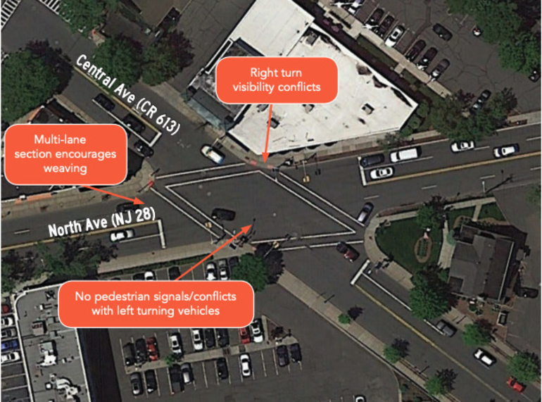 Safety Improvements Were Recommended for Spot Where Westfield Bicyclist Hit Monday