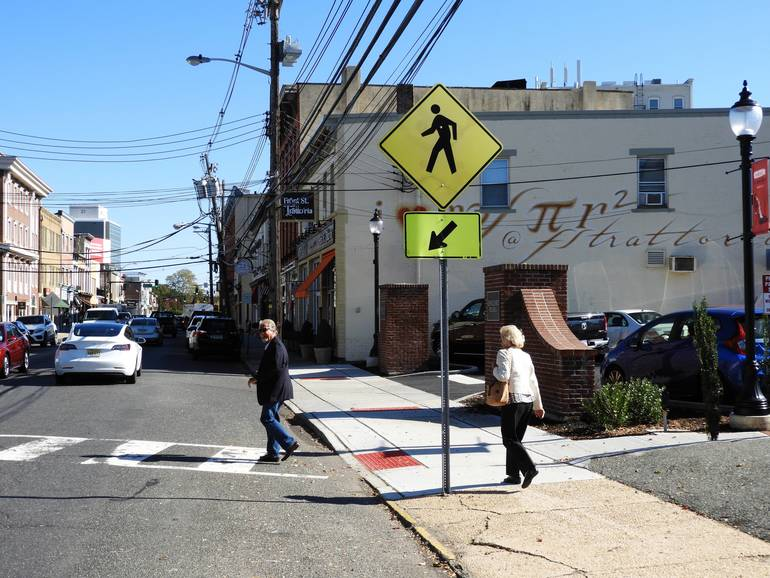 Intersection of West Front Street and English Plaza, where a push button activated pedestrian flashing beacons will be installed.jpg