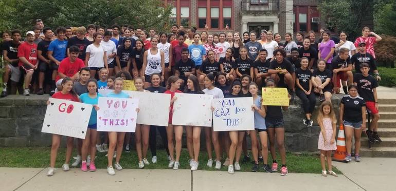 in front of cphs from Dave P.jpg