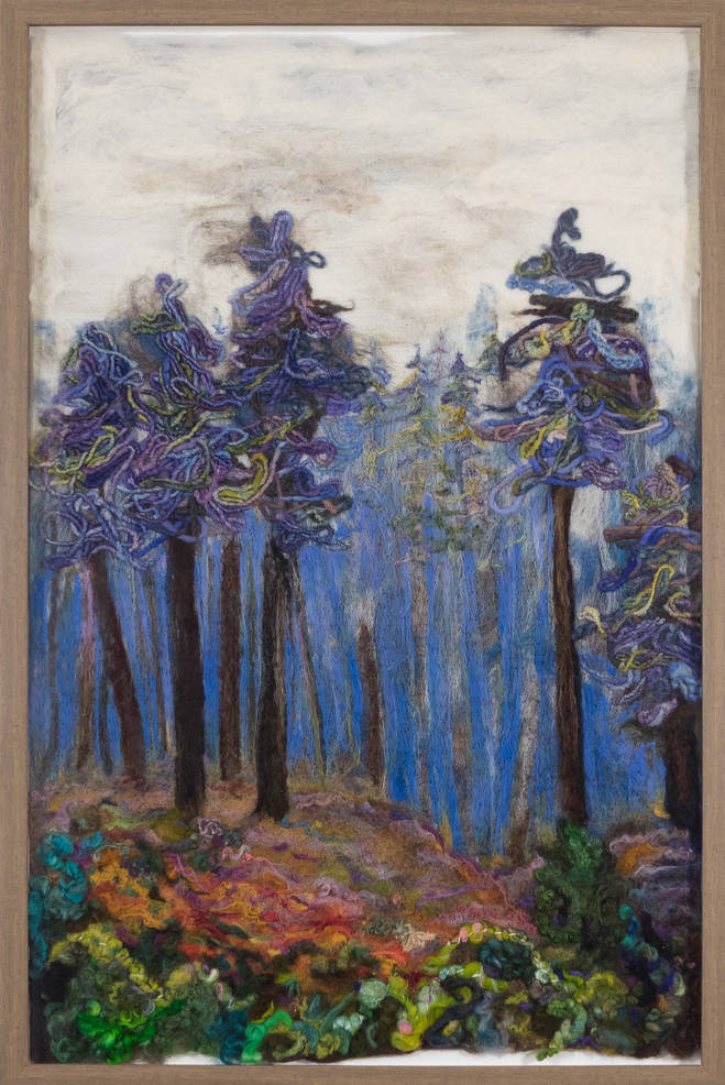 "Kari Roslund ""Into the Deep Wood"""