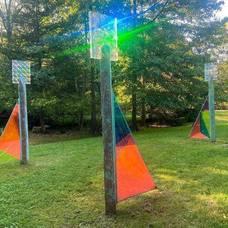 'In Awe of Light' Installed at Laurelwood Arboretum