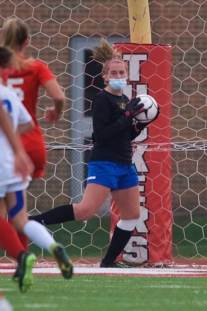 Top story 94d9b8e54d3f18046f0e indians keeper maddy mccrosson stopped 20 shots on goal vs. somers.