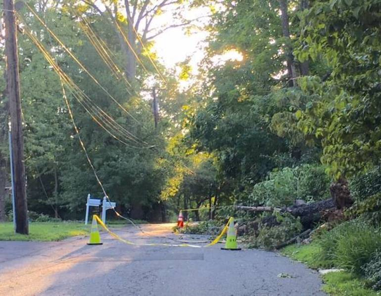 Nearby Bernardsville roads closed