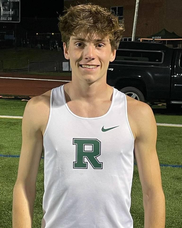 Ridge Runner Jackson Barna Paces NJ in 3200m Race