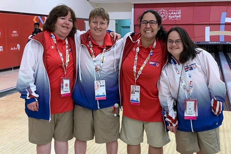 South Orange resident wins medal at Special Olympics in Abu Dhabi