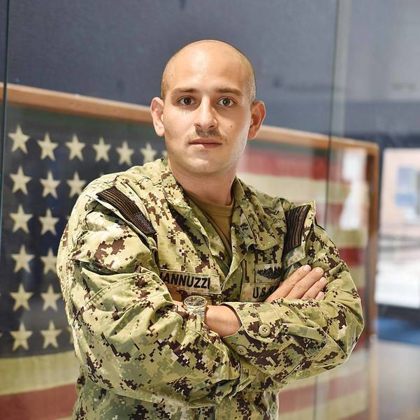 South Amboy native Colin Jannuzzi ha been with the Navy for over 8 years
