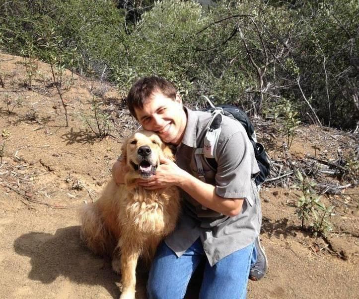 Jake and dog